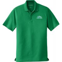 20-K110, X-Small, Kelly Green, Left Chest, Your Logo.