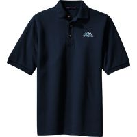 20-TLK420, Tall Large, Navy, Left Chest, Your Logo.