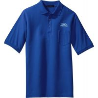 20-TLK500P, Tall Large, Royal, Left Chest, Your Logo.