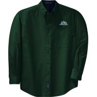 20-TLS608, Large Tall, Dark Green, Left Chest, Your Logo.