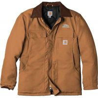 20-CTC003, Small, Carhartt Brown, Left Chest, Your Logo.