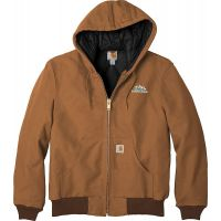 20-CTTSJ140, Medium, Carhartt Brown, Left Chest, Your Logo.