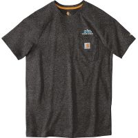 20-CT100410, Small, Carbon Heather, Left Chest, Your Logo.
