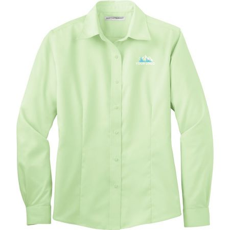20-L638, Small, Green Mist, Left Chest, Your Logo.